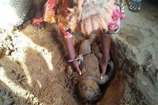 Nigeria : une femme de 33 ans enterre son bébé vivant pour une histoire de paternité