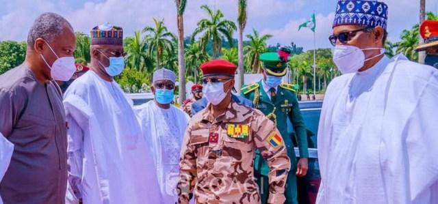Nigeria-Tchad : Mahamat Deby se présente à Buhari pour le succès de la  transition au Tchad – NetAfrique.net