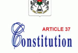 Situation nationale : L'article 37 sauvé par une sanctuarisation ?