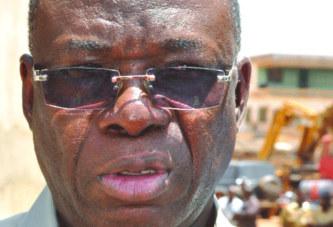 Chantier de l'hôtel administratif du Centre: Luc Adolphe Tiao dénonce la lenteur des travaux