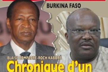 Compaoré – Kaboré: Chronique d'un divorce annoncé*