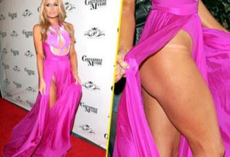 Quand Paris Hilton oublie de mettre une culotte le jour de son anniversaire