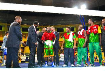 """Boxe:   Alexis Kaboré """" Yoyo'', le nouveau champion WBC international de la catégorie super coq"""