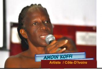 Les artistes ivoiriens malades devant les bureaux du ministre