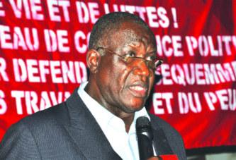 Confédération générale du travail du Burkina: Tolé Sagnon jette l'éponge
