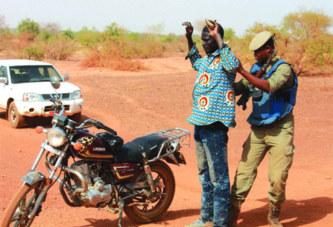 Traque aux bandits dans quatre régions :501 interpellés, 1 bandit abattu