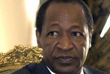 Burkina Faso : pour Blaise Compaoré, les démissionnaires sont des «traîtres»