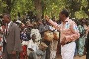 Blaise Compaoré reçoit  un accueil chaleureux   à Zorgho chez