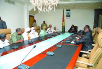 Résolution de la crise au Mali:Blaise Compaoré reçoit deux groupes indirectement impliqués dans les pourparlers intermaliens