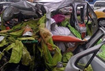 Accra – Un taxi broyé par un car assurant la liaison Abidjan-Lagos : 4 morts