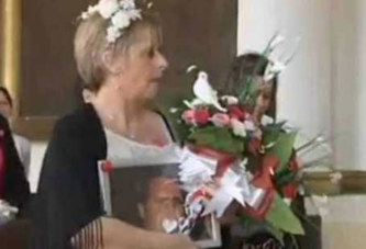 Elle épouse son compagnon décédé