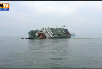 VIDEO – Des images tournées avant le naufrage du ferry en Corée du Sud