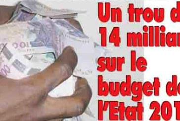 Burkina Faso: Fonds communs au ministère de l'économie et des finances, un trou de 14 milliards de Fcfa sur le budget de l'Etat 2012