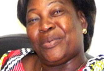 Mariam Marie Gisèle GUIGMA, Secrétaire adjointe à la décentralisation et aux relations avec les élus locaux du CDP «Moi Gisèle, si le CDP tombe, je tombe avec»