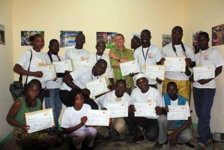 Les participants se sont réjouis de ces cinq jours d'atelier car, ils ont appris beaucoup de chose sur la ville de Ouagadougou