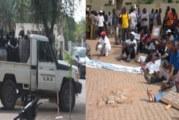 Médias publics: un sit-in sous l'œil des CRS