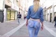 Elle se balade cul nu dans les rues de Lille et pourtant personne ne le remarque…