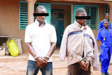 Gendarmerie de Boulmiougou : Ils utilisent des somnifères et des armes pour voler