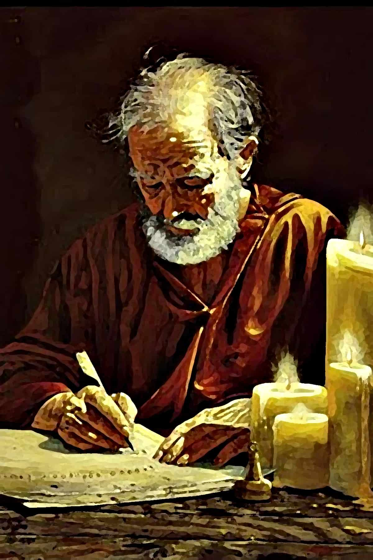 Image result for Paul writing