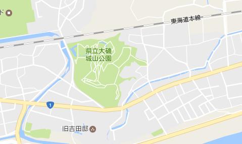 県立大磯城山公園 Google マップ