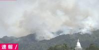 【災害】岩手県釜石市大字平田付近で大規模な山火事