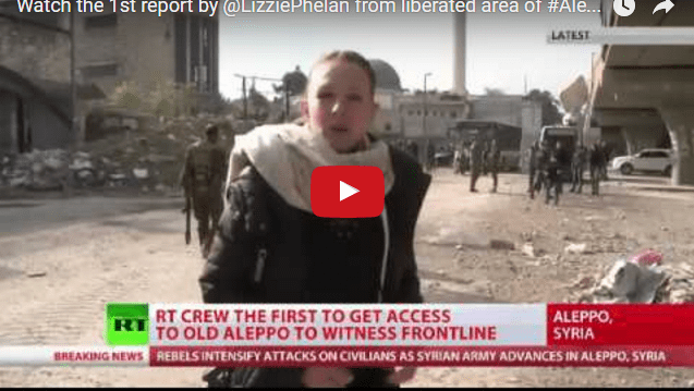 Footage-The First report by @LizziePhelan from liberated area of #Aleppo's Old City #SAA #TwitterKurds