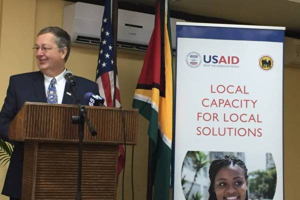 Christopher Cushing le nouveau chef de l'USAID Haiti