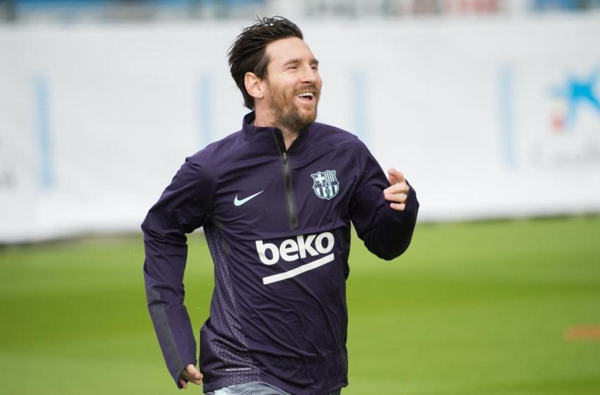 FC Barcelone: Messi de retour à l'entraînement collectif avant le Betis