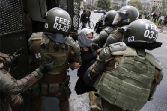 Chili:Les émeutes liés à l'inégalité des revenus se propagent dans le reste du pays