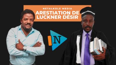"""Photo of Arestiation de Luckner Désir dit """" Louko Désir"""" ce vendredi 3 avril 2020"""