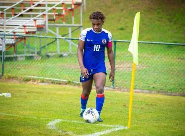 Actualité / Football haitien: Corventina représente la Caraïbe dans le classement des meilleure joueuses des moins de 20 ans.