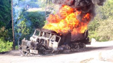 Photo of Haiti-Actualites:Eksplozyon yon kamyon sitèn gazoline lan Kafou Chal