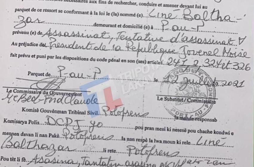 Ayiti-Jistis :Mèt Berd-Ford Calude, mete manda dèyè 4 moun nan kad asasina Jovenel Moïse la