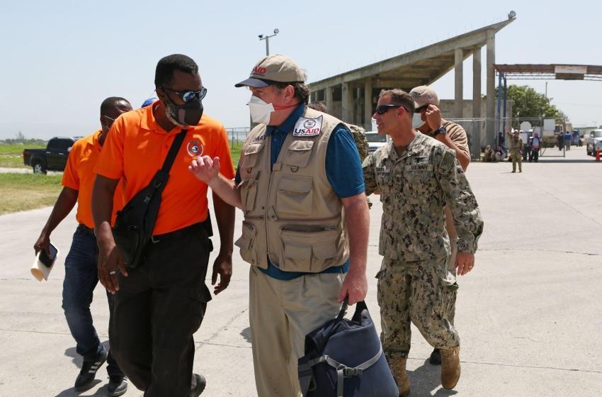 USAID bay $32 Milyon pou asiste repons tranblemandetè-a nan peyi d Ayiti