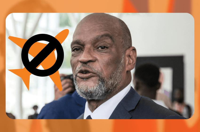 Interdiction de départ du Premier ministre Ariel Henry