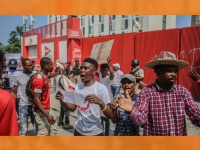 Des mouvements de protestation ont éclaté lundi matin à Port-au-Prince
