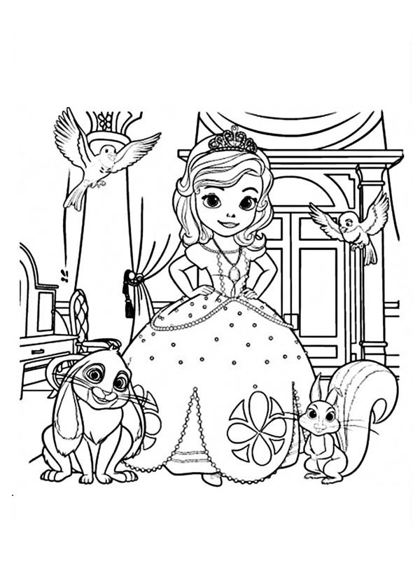 Picture Of Princess Sofia And Friends In Sofia The First