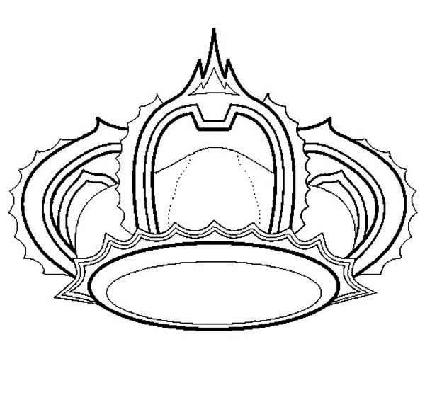 princess crown for princess wedding coloring page  netart