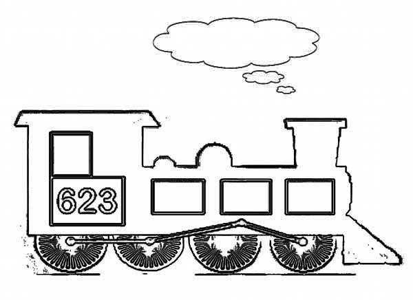 train coloring # 55