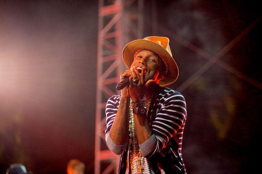 Pharrell Williams spiller på Plænen i Tivoli til sommer. Foto: Shawn Harris Ahmed