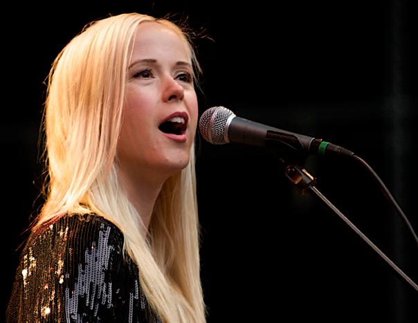Tina Dickow vil sammen med Kashmir indtage scenen i Østreanlæg i Holbæk til august. Arkiv foto: Simon Wedege Petersen.