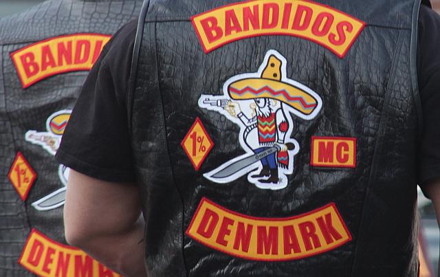 Tidligt i morges blev der affyret skud mod Bandidos' tilholdssted på Stubbedamsvej i Helsingør. Arkivfoto: Rolf Larsen.