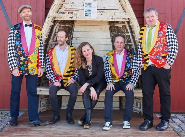 Fede Finn og Funny Boyz kan opleves gratis flere steder på Sjælland fredag og lørdag. PRfoto.