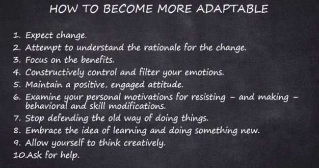 How to be adaptable in the workplace