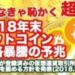 【仮想通貨】ビットコイン価格暴騰の予兆 No.21