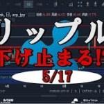 リップル(XRP)下げ止まる!?(仮想通貨、暗号通貨)