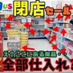 【実録】トイザらス閉店セールが仕入れ放題だった!2日間でサラリーマン1か月分のお給料を稼ぐ