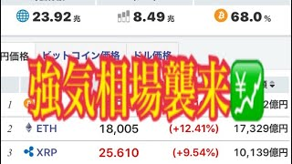 【仮想通貨】リップル最新情報‼️強気相場襲来💹