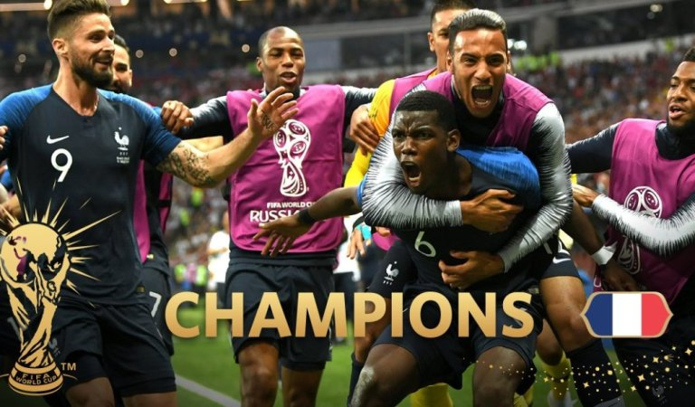 France crowned 2018 FIFA World Cup champions