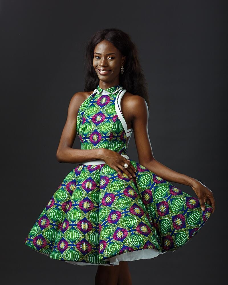 Princess of the Globe Ghana Thelma Azasoo in Egypt for Top Model of the World